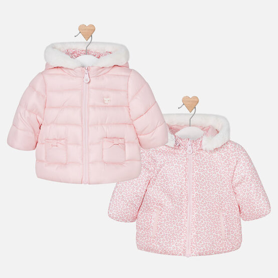 Mayoral Baby Reversible Coat