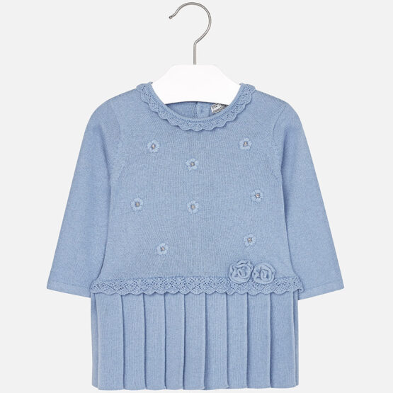 Mayoral Baby Girl Knit Long Sleeve Dress