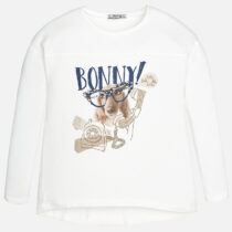 Mayoral Girl Viscose Long Sleeve T-Shirt