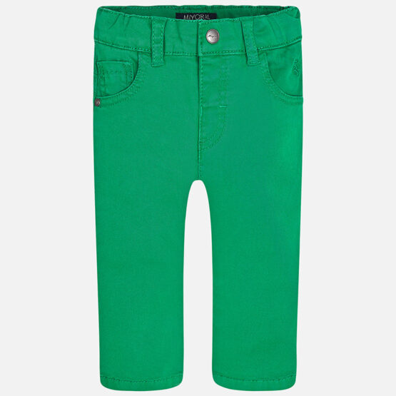 Mayoral Baby boy basic twill long trousers