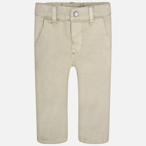 Mayoral Baby boy long twill chino trousers