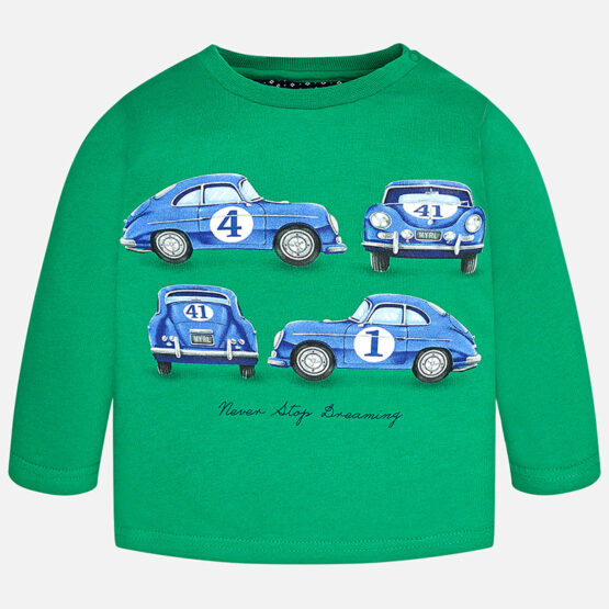 Mayoral Boy long sleeve t-shirt with print