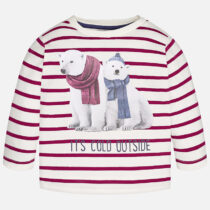 Mayoral Baby boy long sleeve t-shirt with stipes