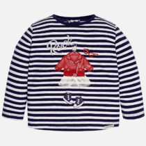 Mayoral Baby Girl Striped Long Sleeve T-shirt