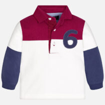 Mayoral Baby boy combined long sleeve polo shirt