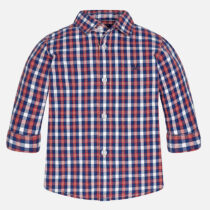 Mayoral Baby boy checkered long sleeve shirt