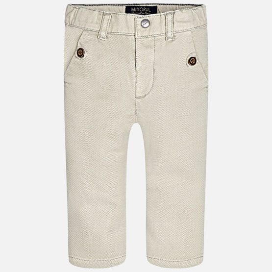 Mayoral Baby boy long twill trousers