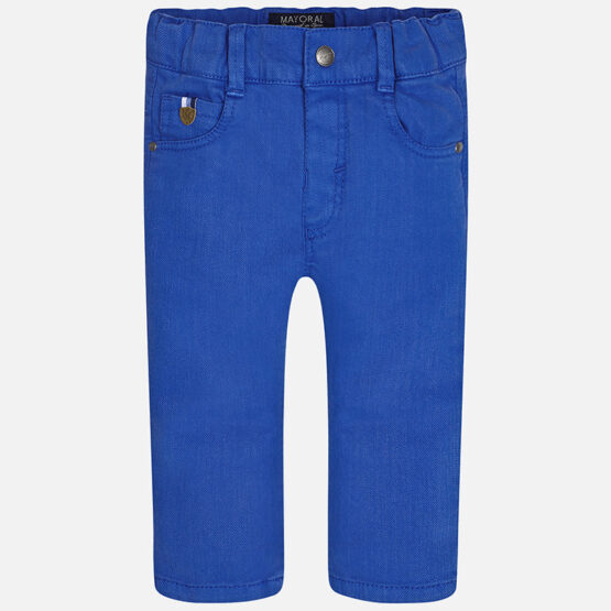 Mayoral Baby boy long twill and elastane trousers