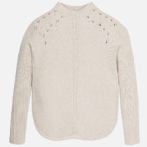 Mayoral Girl Knit Jumper with Strass