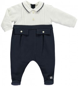 Emile et Rose Leonard Traditional Smart Babygrow