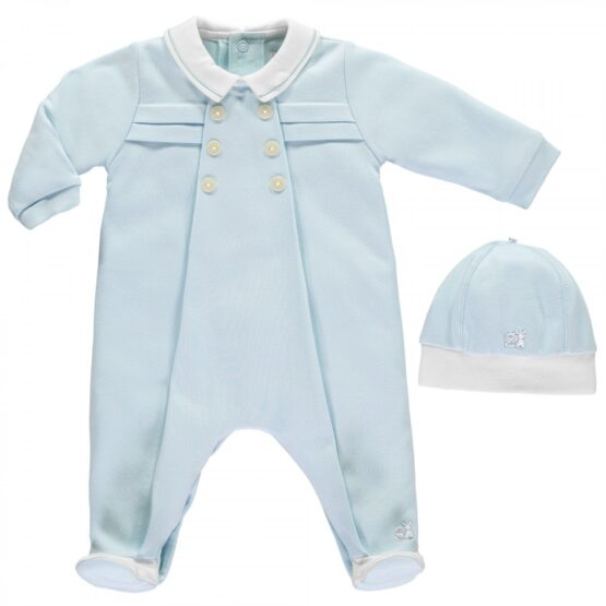 Emile et Rose Lance Traditional Babygrow and Hat