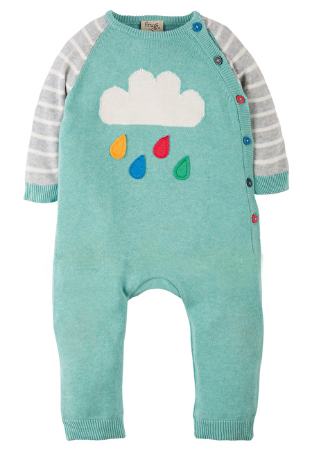 Frugi Organic Cosy Knitted Romper