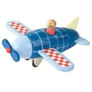 Janod Magnetic Wooden Aeroplane