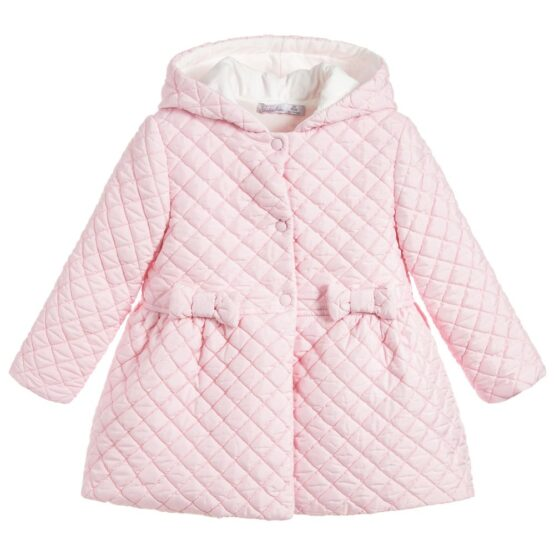 Patachou Girls Quilted Coat