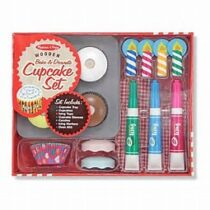 Melissa and Doug Wooden Cupcake Set