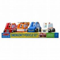 Melissa and Doug Wooden Emergency Vehicles