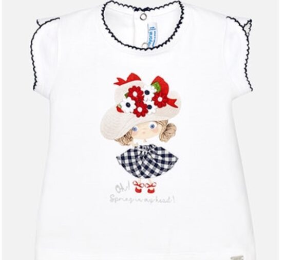 Mayoral Girl T shirt with Hat