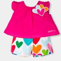 Agatha Ruiz De La Prada Top and Shorts