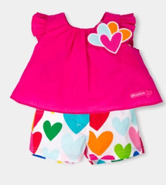 Agatha Ruiz De La Prada Top and Shorts