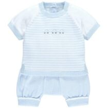 Emile et Rose Matthew Striped Car Knit Outfit