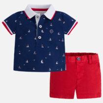 Mayoral Polo Shirt and Short