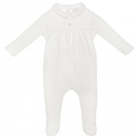 Patachou Baby Girl Knit Playsuit