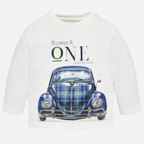 Mayoral Long Sleeve Car Print Top 2012