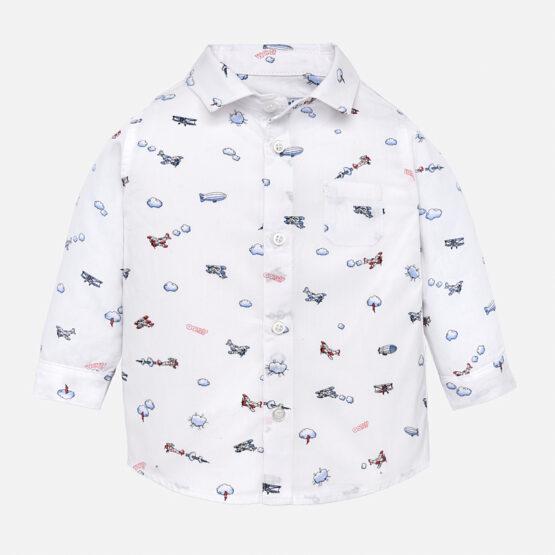 Mayoral Micro Patterned Shirt 2140