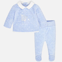 Mayoral Baby Boy Star Footed Trouser Set 2502