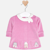 Mayoral Baby Girl Velour Dress 2826