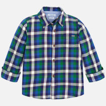 Mayoral Long Sleeve Check Shirt 4148