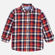 Mayoral Long Sleeve Check Shirt 4148
