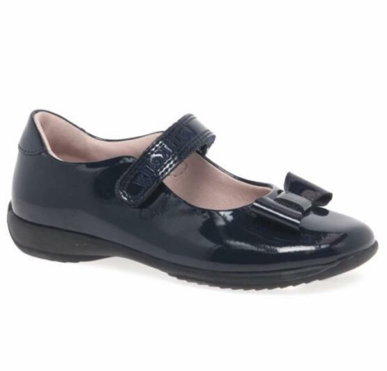 Lelli Kelly Perrie Navy School Shoe