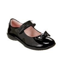 Lelli Kelly Perrie  Black School Shoe