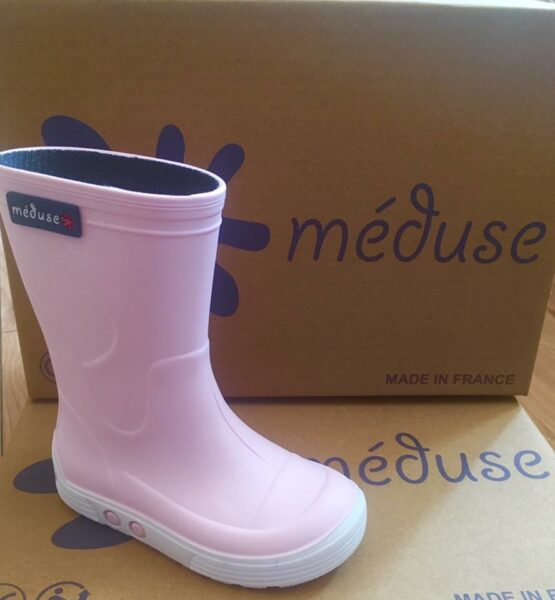 Meduse Pink Wellies