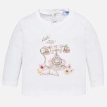 Mayoral Long Sleeved Print T-shirt 2050