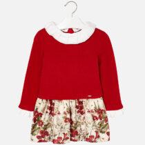 Mayoral Knit Mix Dress 4946