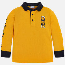 Mayoral Long Sleeve Polo 4112