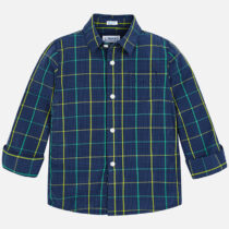 Mayoral Long Sleeve Check Shirt 4154