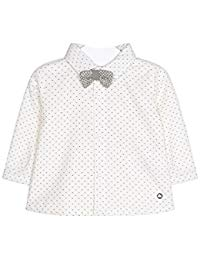 Mayoral Baby Boy Long Sleeved Shirt with Bowtie 2104