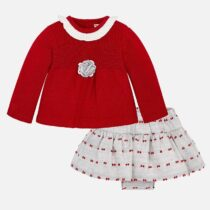 Mayoral Baby Girl Jumper and Skirt Set 2870