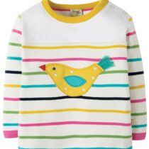 Frugi Playtime Panel Bird Tee