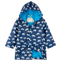 Hatley Monster Truck Colour Changing Rain Jacket