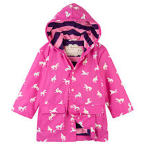Hatley Unicorn Colour Changing Rain Jacket