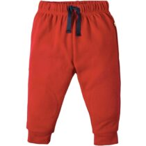 Frugi Red Kneepatch Crawlers