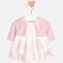 Mayoral Baby Girl Dress with Cardigan 2806