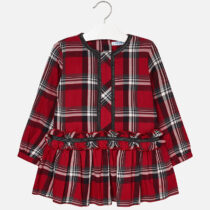 Mayoral Checked Dress 4962