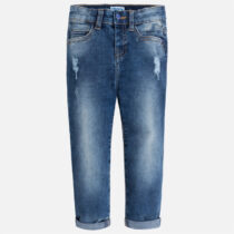 Mayoral Regular Fit Ripped Jeans 3538