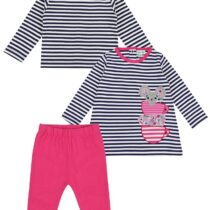 Lilly and Sid Mouse Applique Dress and Leggings Set
