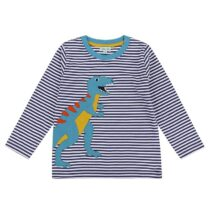 Lilly and Sid Dino Applique Top